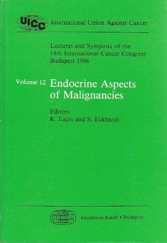 Endocrine aspects of malignancies (Lectures and symposia of the 14th International Cancer Congress, Budapest, August 21-27, 1986)