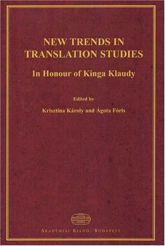 New Trends in Translation Studies
