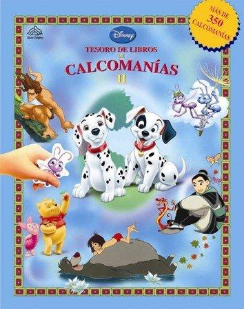 Calcomanias II / Sticker (Disney, Tesoro De Libro De Calcomanias) (Spanish Edition)