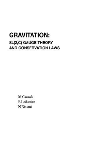 Gravitation: Sl(2,C) Gauge Theory And Conservation Laws