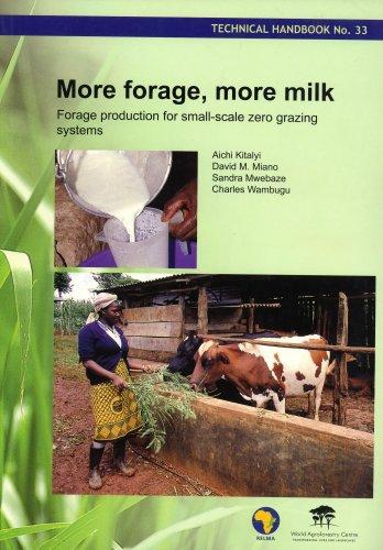 More Forage, More Milk: Forage Production for Small-scale Zero Grazing Systems (Technical Handbook, 33)