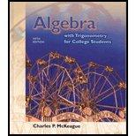 Algebra with Trigonometry for College Students - Textbook Only