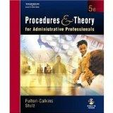 Procedures & Theory for Administrative Professionals- Text Only