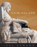 Criminal Law- Text Only