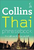 Collins Thai Phrasebook: The Right Word in Your Pocket