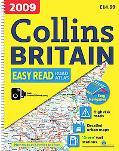 2009 Collins Easy Read Road Atlas Britain: A3 Edition (Collins Road Atlas)