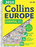 2010 Collins Road Atlas Europe (International Road Atlases)