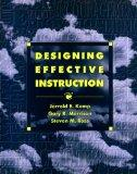 Designing Effective Instruction: Applications of Instructional Design
