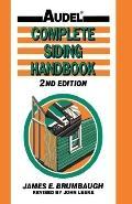 Complete Siding Handbook Installation Maintenance Repair