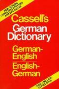 Cassell's German-english Dict.,plain