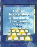 Gregg College Keybroading and Document Processing for Windows: Lessons 1-60