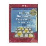 Greg College Document Processing for Windows: Lessons 61-120 for Use With Wordperfect 8.0