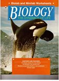 Biology the Dynamics of Life Biolab and Minilab Worksheets