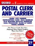 Postal Clerk and Carrier - Eve P. Steinberg - Hardcover - 19th ed