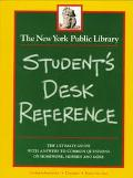 New York Public Library Student's Desk Reference