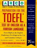 Preparation for the Toefl Test of English As a Foreign Language