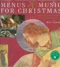 Music and Menus for Christmas - Willi Elsener - Hardcover - BOOK & CD