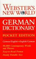Webster's New World German Dictionary: Pocket Edition