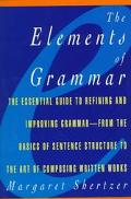 Elements of Grammar
