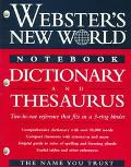 Webster's New World Notebook Dictionary and Thesaurus - Michael Agnes - Paperback