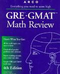 GRE/GMAT Math Review: The Mathworks Program - David Frieder - Paperback - 4TH