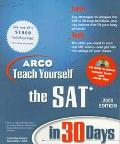 ARCO Teach Yourself the Sat in 30 Days - Cambridge Review - Paperback - BK&CD ROM