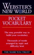 Webster's New World Pocket Vocabulary