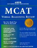 Arco McAt Verbal Reasoning Review