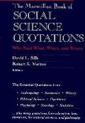 Book of Social Science Quotations
