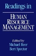 Readings in Human Resource Management