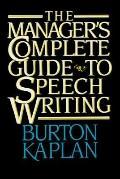 Manager's Complete Guide to Speech Writing