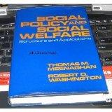 Social Policy and Social Welfare: Structure and Applications