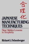 Japanese Manufacturing Techniques Nine Hidden Lessons in Simplicity