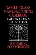 World Class Manufacturing Casebook Implementing Jit and Tqc
