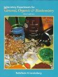 Laboratory Experiments for General, Organic & Biochemistry (Saunders Golden Sunburst Series)