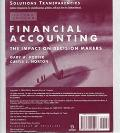 Financial Accounting: The Impact on Decision Makers : Solutions Transparencies : Contains Tr...
