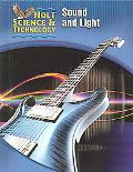 Holt Science and Technology Sound and Light Short Course O