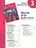 Holt Science and Technology: Earth Science: Minerals and Earth's Crust