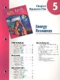 Holt Science and Technology: Earth Science: Energy Resources