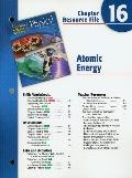 Holt Science and Technology: Physical Science: Atomic Energy