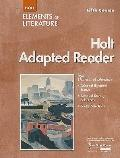 Elements of Literature: Adapted Reader