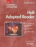 Elements of Literature: Holt Adapted Reader