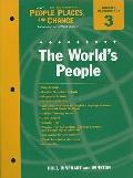 Holt People, Places, and Change Eastern Hemisphere Chapter 3 Resource File: The World's Peop...