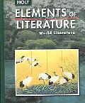 Elements of Literature World Literature