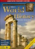 World History: The Human Journey - Holt, Rinehart and Winston Staf - Hardcover - ANN