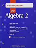 Assessment Resources (Holt Algebra 2)