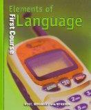 Holt Elements of Language: Student Edition Grade 7 2001