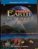 Modern Earth Science Assessment Item Listing