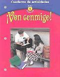 Ven Conmigo Cuaderno De Actividades  Holt Spanish 1