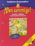 Holt Spanish 2 Ven Conmigo! Cuaderno De Gramtica, Teacher's Edition (Holt Spanish 2)